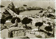 Carte postale collection France Biarritz 1952 timbrée 6 francs