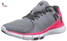 Under Armour Ua W Micro G Limitless Tr, Cheville Fitness Femme, Grau (STL/HYR/CHC 42), 40 EU - Chaussures under armour (*Partner-Link)