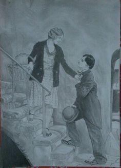 Charles Chaplin Draw, feito a uns meses atras.