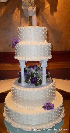 Growing in Grace: Wedding Cake Made Simple