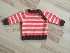 Made In Wonderland By Alice: Strikket trøje
