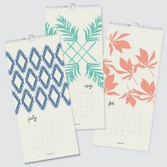 Oh So Beautiful Paper: 2012 Calendar Round-up, Part 1