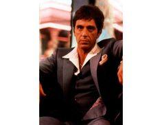 Os atores mais elegantes do cinema segundo a GQ: Al Pacino em Scarface. #cinema
