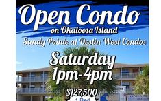 This Saturday (December at - Permanent Residence, Fort Walton Beach, Residential Real Estate, Condos For Sale, Parks And Recreation, Investment Property, Open House, Places To See, Things To Do