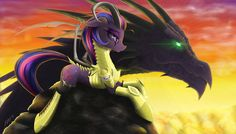 Twilight Sparkle and Spike by ZiG-WORD on DeviantArt