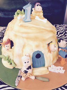 Flintstone bedrock cake