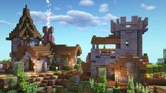 Small Minecraft Medieval Village