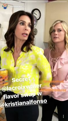 Kristian Alfonso and Alison Sweeney  #Daysofourlives #DOOL