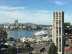 Photo of Royal British Columbia Museum - Victoria, BC, Canada. Harbor view from museum overlook Harbor View, Vancouver Island, British Columbia, San Francisco Skyline, Vacations, Museum, Canada, Victoria, Travel