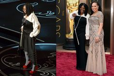 Worst dressed? Whoopi Goldberg at the Oscars.