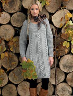 Ravelry: Sweater Dress pattern by James C. Brett