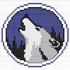 I have a friend who really likes wolves, so I decided to make him a special framed cross stitch of his favorite animal! And, I've decided to share the pattern with all of you! I just used all gener...