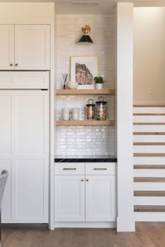 3 Tile Trends for 2020 with Cle TileBECKI OWENS Home Design, Interior Design, White Wall Tiles, Traditional Tile, Oak Hardwood Flooring, Clay Tiles, Handmade Tiles, White Cabinets, Kitchen Cabinets
