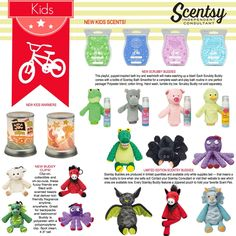 Scentsy's New Kids line! Place your order at: https://ashleypaige.scentsy.us/