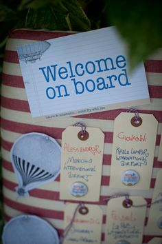 Welcome on board for back to school