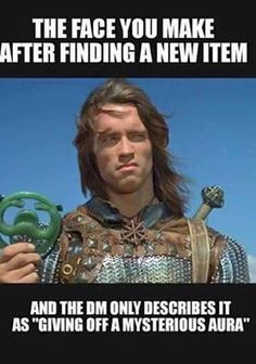 New items are the best, sometimes! Dungeons and Dragons