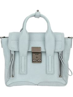 3.1 PHILLIP LIM 'Pashli' mini satchel #SS14 fringeandfrange.com @}-,-;--