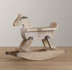 vintage rocking horse accessories restoration hardware baby child baby nursery cool bee animal rocking horse