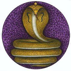 Kerala Mural Painting, Tanjore Painting, Kauai, Maa Image, Snake Painting, Hindu Symbols, Shree Krishna Wallpapers, Creation Myth, Pagan Gods