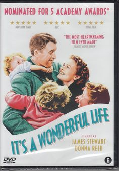 Number 26/35: It's a Wonderful Life - remastered: Amazon.co.uk: James Stewart, Donna Reed, Lionel Barrymore, Henry Travers, Thomas Mitchell, Frank Capra: DVD & Blu-ray