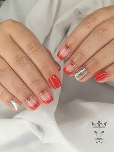 Red nails  #nails #nailart #rednails #goldnails #frenchnailstyle #lovelyred #nailaholic #nailaddict #nail2inspire #nothingisordinary #nailartist #marinaveniou #nailartseminars #trustthexperts #beautymakesmehappy   www.kalliopeveniou.gr