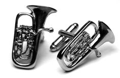 Custom Tuba Cuff Links Awesome Gift Idea For the Musician in your life! Available In All Metals