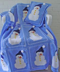 tığ işi - bebek battaniyesi