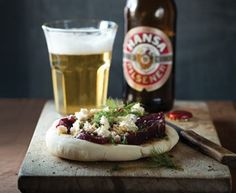 Beetroot, dill and feta pitas | Eat Out