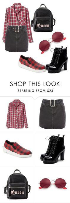 """""""Tartán!"""" by andreaa16-00 on Polyvore featuring Gap, Topshop, Christian Dior, Charlotte Russe and Ray-Ban"""