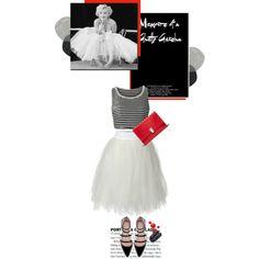 Ballerina... by unamiradaatuarmario on Polyvore featuring polyvore fashion style a. drea Zara Proenza Schouler Kenneth Jay Lane ballerina