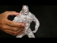 Amazing King Kong made with foil! How to make s King Kong made with foil in a few minutes - YouTube