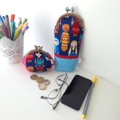 Children of the world coin purse and pencilcase