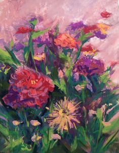 Over at Mary's - Original Fine Art By Ginny Stocker