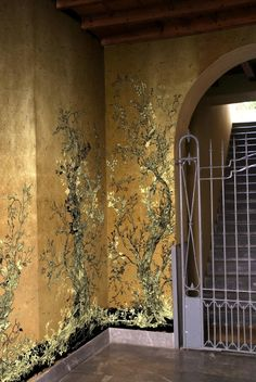 Timorous Beasties Wallcoverings - Golden Oriole wallpaper panels Timorous Beasties, Wallpaper Panels, House, Home, Homes, Houses