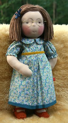 Waldorf Doll with glasses  :)