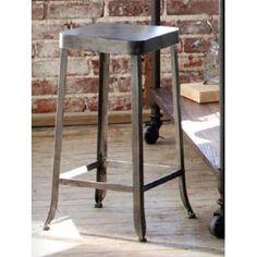 Metal Workbench Stool