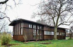 Image result for herzog de meuron plywood house
