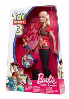 Disney / Pixar Toy Story 3 Barbie Doll Barbie Loves Jessie New Disney Barbie Dolls, Barbie Cartoon, Barbie Doll Set, Barbie Toys, Doll Toys, Celebrity Barbie Dolls, Barbie Stuff, Barbie Dress, Toy Story 3