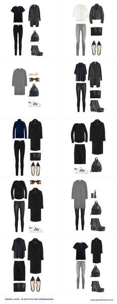 Copenhagen Fashion Style - Outfits lässig kombinieren *** What to wear in Copenhagen, Denmark. Pack for Copenhagen in the fall.