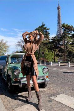 Car Girls, Automobile, Tower, Hipster, Beautiful Women, Classy, Paris, Female, Chic