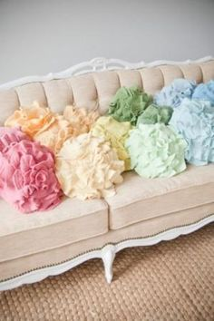 A Rainbow of Pastel Colors by ethel