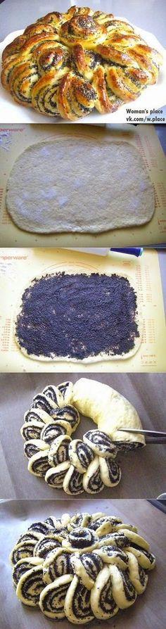 Mohnrollkuchen