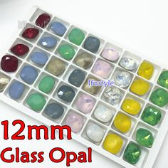 Find More Beads Information about K9 High Quality 40pcs 12MM Fat Square Opal Rose,Snow White,Green,Blue,yellow,Red Mix Opal Colors Crystal Fancy Stone,High Quality stone vase,China k9 pdf Suppliers, Cheap stone sharpener from Ifirstyle Rhinestone Online-Factory Direct Sale! on Aliexpress.com
