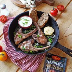 Chutné jahňacie mäsko sa skvelo hodí aj k letnej grilovačke. ☀️🍖😋 Vyskúšajte vynikajúce grilované kotlety. Dairy, Cheese, Food, Meal, Eten, Meals