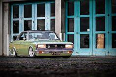 A sublime, slammed '69 Toyota Crown