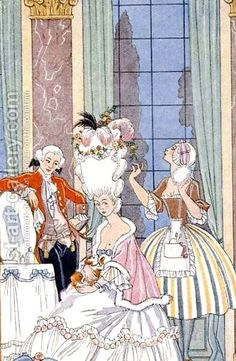 Georges Barbier:France in the 18th Century