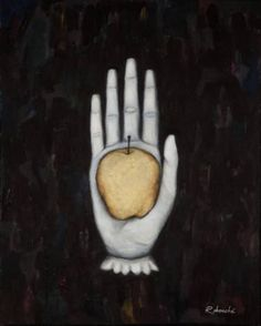 "Saatchi Art Artist Rebecca Rebouche; Painting, ""Hand of Eris"" #art"
