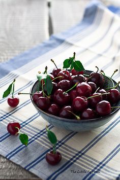 sweet cherry (by The Little Squirrel)