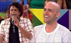 Paulo Gustavo encontra com seu Imitador Perfeito e Chora de Rir Hilário! Pra Rolar de Rir