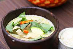 Curry vert au poulet: recette thaïlandaise - HerveCuisine.com